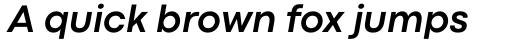 Codec Pro Bold Italic sample
