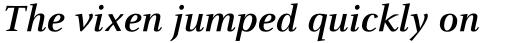 Celeste OT Bold Italic sample