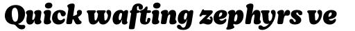 Moranga Black Italic sample