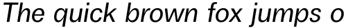Boring Sans A Italic sample