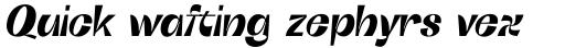 Boring Sans C Bold Italic sample