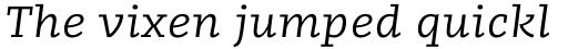 FF Kaytek Slab Italic sample