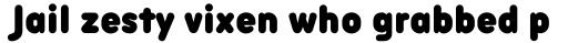 Aristotelica Pro Text Condensed Fat sample