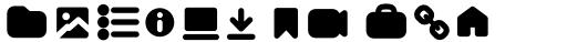 Aristotelica Pro Aristotelica Pro Icons Bold sample