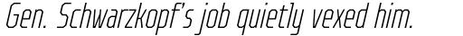 TT Octosquares Compressed Thin Italic sample