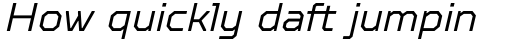 TT Octosquares Light Italic sample