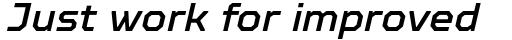 TT Octosquares Medium Italic sample