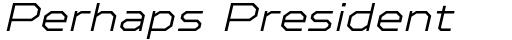 TT Octosquares Expanded ExtraLight Italic sample