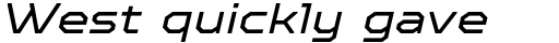 TT Octosquares Expanded Italic sample