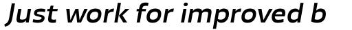 Blom Medium Italic sample