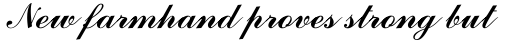 Commercial Script Std Regular sample