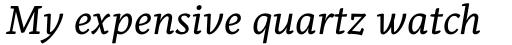 Alkes Regular Italic sample