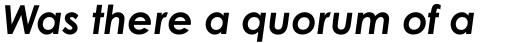 Century Gothic W1G Bold Italic sample