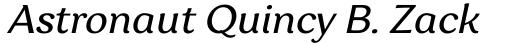 Garbata Italic sample