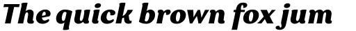 Garbata Extrabold Italic sample