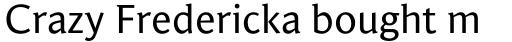 Jaqen Semi Regular sample