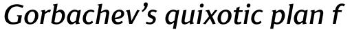 Jaqen Semi Medium Italic sample