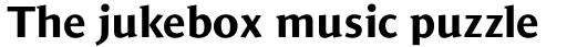 Jaqen Semi Extra Bold sample