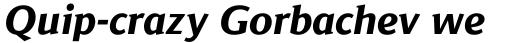 Jaqen Semi Extra Bold Italic sample