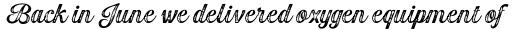 Gambler Script Print Bold sample