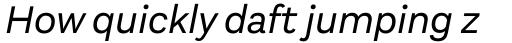 Aestetico Regular Italic sample