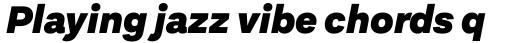 Aestetico Black Italic sample