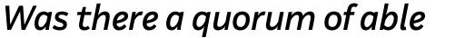 Aestetico Formal Medium Italic sample