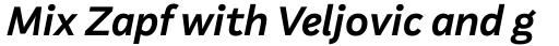 Aestetico Formal Semi Bold Italic sample