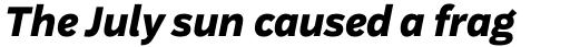 Aestetico Formal Extra Bold Italic sample