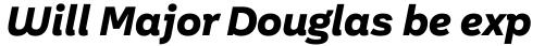 Aestetico Informal Extra Bold Italic sample