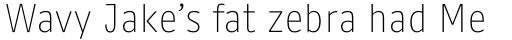FF Kaytek Headline Thin sample
