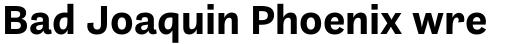 Barnet Sans Bold sample