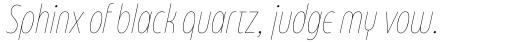 Eastman Condensed Compressed Alternate Thin Italic sample