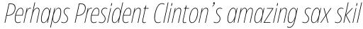 Eastman Condensed Compressed Extralight Italic sample