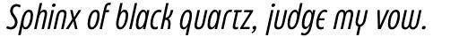 Eastman Condensed Compressed Alternate Italic sample