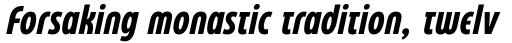 Eastman Condensed Compressed Alternate Bold Italic sample