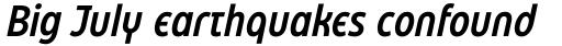 Eastman Condensed Alternate Demibold Italic sample