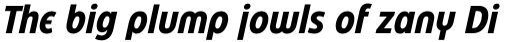 Eastman Condensed Alternate Bold Italic sample