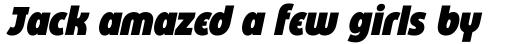 Eastman Condensed Alternate Heavy Italic sample