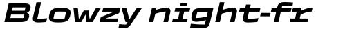 TT Autonomous DemiBold Italic sample