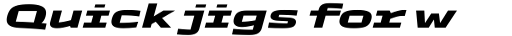 TT Autonomous ExtraBold Italic sample