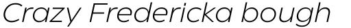 Eastman Roman Light Italic sample
