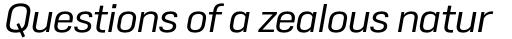 Duran Regular Italic sample