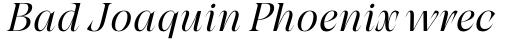 Grand Cru Light M Italic sample