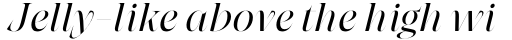 Grand Cru Light L Italic sample