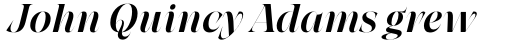 Grand Cru Medium L Italic sample