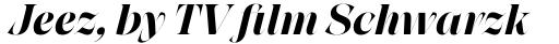 Grand Cru Bold L Italic sample