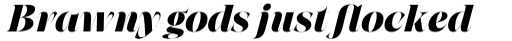Grand Cru Extrabold L Italic sample