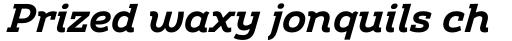 Amazing Slab Bold Italic sample