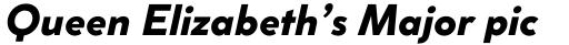 Coco Sharp XS Extrabold Italic sample